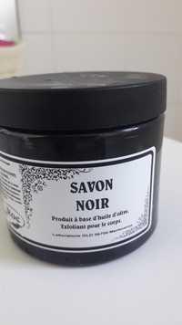 AROMA ROC - Savon noir - Exfoliant pour le corps