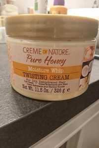 Creme of Nature - Pure honey - Moisture whip twisting cream