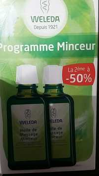 Weleda - Programme minceur - Huile de massage minceur