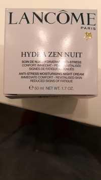 Lancôme - Hydra Zen nuit - Soin de nuit hydratant anti-stress