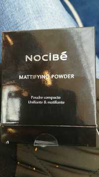 NOCIBÉ - Unifiante & matifiante - Poudre compacte