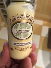 L'OCCITANE - Amande - Après-shampooing à l'huile d'amande