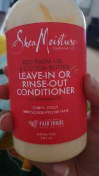 SHEA MOISTURE - Leave-in or rinse-out conditioner