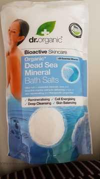 Dr. Organic - Organic dead sea mineral - Bath salts