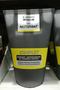 CASINO - Homme complet - Gel nettoyant au charbon