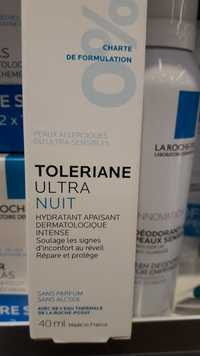 LA ROCHE-POSAY - Toleriane ultra nuit - Hydratant apaisant dermatologique intense