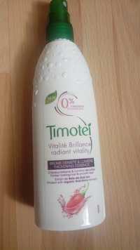 Timotei - Vitalité brillance - Brume densité & lumière