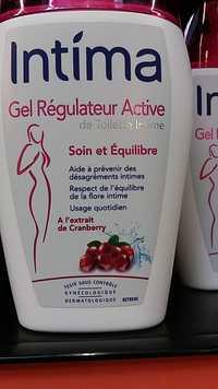 INTIMA - Gel Régulateur Active de Toilette Intime Soin et Équilibre