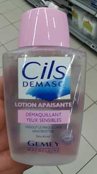 Gemey Maybelline New York - Cils demasq - Lotion apaisante