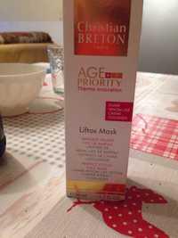 CHRISTIAN BRETON - Age+ priority Liftox - Masque visage focus parfait