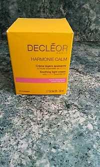 Decléor - Harmonie calm - Crème légère apaisante