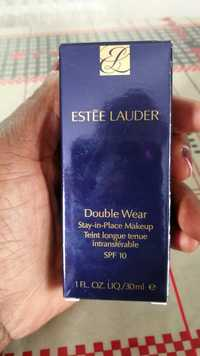 Estee Lauder - Double wear - Teint longue tenue intransférable SPF 10