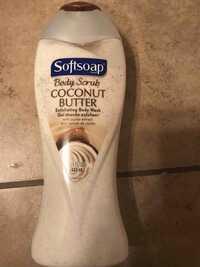 SOFTSOAP - Coconut butter - Gel douche exfoliant