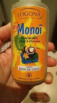 Logona - Monoï - Huile de soin corps & cheveux
