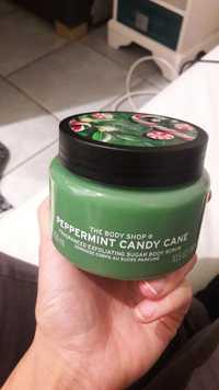THE BODY SHOP - Peppermint Candy Cane - Gommage corps au Sucre parfumé