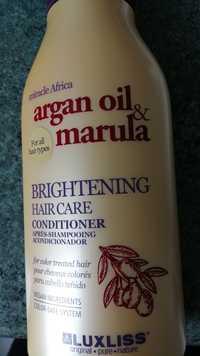 LUXLISS - Argan oil & marula - Brightening conditioner