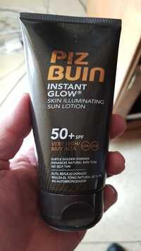 PIZ BUIN - Instant glow - Skin illuminating sun lotion SPF 50+