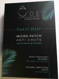 ÔDE COSMÉTIQUES - Nutri hair - Micro patch anti chute aux extraits de plantes