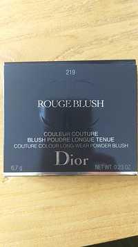 Dior - 219 Rouge blush - Blush poudre longue tenue