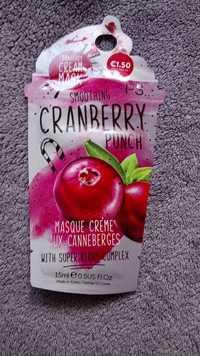 Primark - PS... Cranberry punch - Masque crème