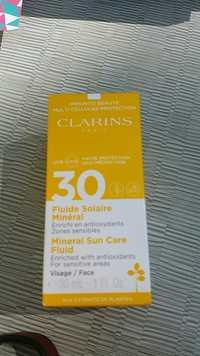 Clarins - Fluide solaire minéral UVA/UVB 30