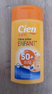 Cien - Sun - Crème solaire enfant FPS 50