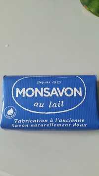 Monsavon - Au lait - Hydratant - Savon naturellement doux