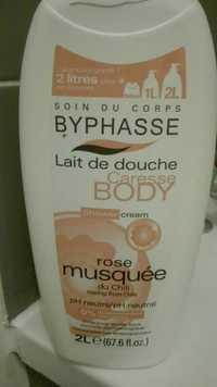 BYPHASSE - Caresse body - Lait de douche rose musquée