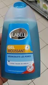 LABELL - Gel moussant