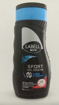 LABELL - Men sport - Gel douche 2 en 1