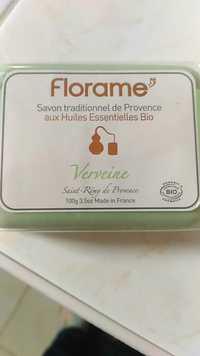 FLORAME - Verveine - Savon traditionnel de Provence