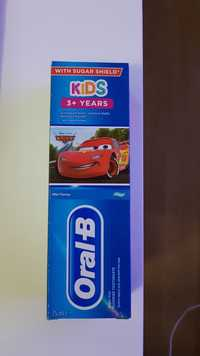 Oral-B - Kids disney cars - Toothpaste 3+ years with sugar shield