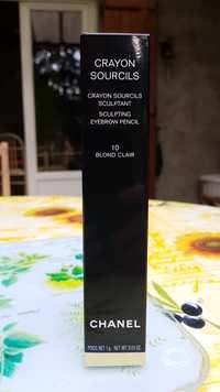 CHANEL - Crayon sourcils  sculptant 10 blond clair