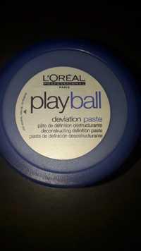 L'ORÉAL - Playball - Pâte de définition déstructurante