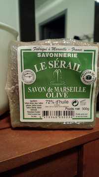 SAVONNERIE LE SÉRAIL - Olive - Savon de Marseille