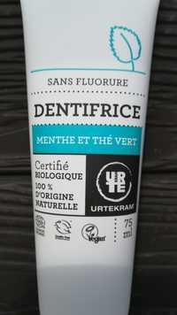Urtekram - Dentifrice - Menthe et Thé vert