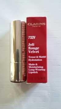 Clarins - 732V - Joli rouge velvet