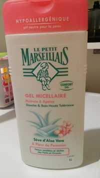 LE PETIT MARSEILLAIS - Gel micellaire - Douche & bain haute tolérance