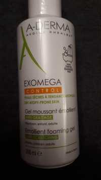 A-Derma - Exomega - Gel moussant émollient