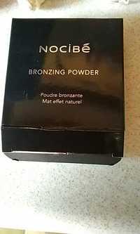 NOCIBÉ - Poudre bronzante mat effet naturel