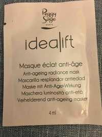 Peggy Sage - IdeaLift - Masque éclat anti-âge