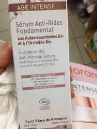 FLORAME - Age intense - Sérum anti-rides fondamental bio