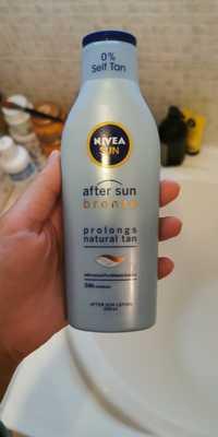 NIVEA - Bronze - After sun lotion 24 h