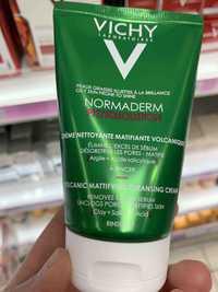 VICHY - Normaderm phytosolution - Crème nettoyante matifiante volcanique
