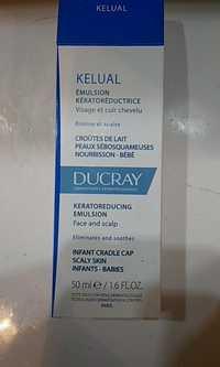 Ducray - Kelual - Émulsion kératoréductrice - Croûtes de lait Peaux sébosquameuses nourrisson bébé