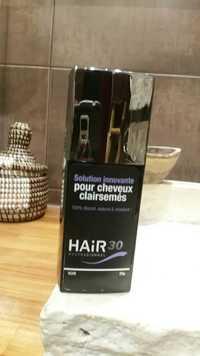 HAIR 30 - Solution innovante pour cheveux clairsemés noir