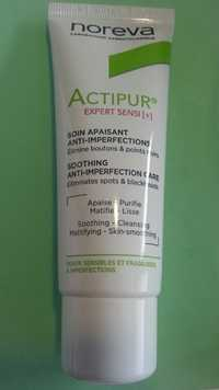 Noreva - Actipur - Soin apaisant anti-imperfections