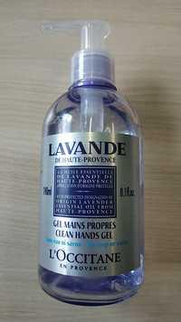 L'OCCITANE - Lavande - Gel mains propres