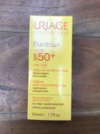 Uriage - Bariésun crème très haute protection SPF 50+