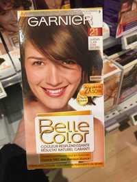 GARNIER - Belle color - Coloration 21 châtin clair doré naturel